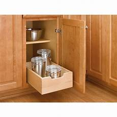 rev a shelf 11 in w x 5 62 in h wood 1 tier pull out