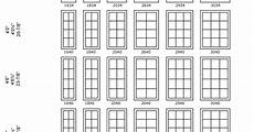 Standard Replacement Window Size Chart Andersen French Casement Window Casement Window Size