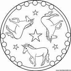 Malvorlagen Mandala Einhorn Malvorlage Mandala Einhorn Ausmalbilder