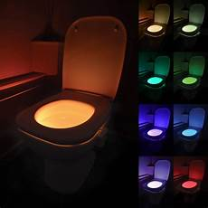 Sensor Toilet Light Led Motion Activated Toilet Bowl Night Light