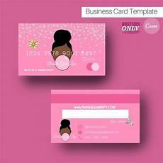 Credit Card Design Awards Diy Premade Pink Business Card Credit Card Template Beauty