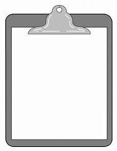 Clipboard Templates Clipboard Template Clipart Best