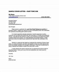 Cover Letter Example For Supervisor Position Free 6 Sample Retail Management Cover Letter Templates In