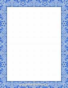 Free Blue Borders Blue Bandana Border Borders For Paper Clip Art Borders