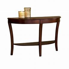 steve silver company troy sofa table in cherry finish ty100s
