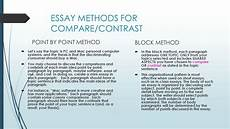 Point By Point Compare And Contrast Essay 001 Essay Example Compare And Contrasting Contrast Point