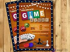 Game Night Invitation Template Game Night Invitation Game Party Invite Old School Games