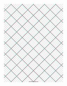 3d Graph Paper Template Printable 3d Paper 5x5 Grid With Small Offset