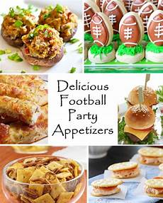 delicious football appetizers