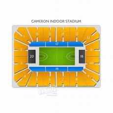 Cameron Indoor Stadium Seating Chart With Rows And Seat Numbers Cameron Indoor Stadium Tickets Cameron Indoor Stadium