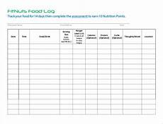 Food Tracking Log 33 Food Log Templates Doc Pdf Excel Free Amp Premium