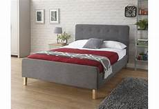 gfw furniture ashbourne 150cm bedstead 150cm grey