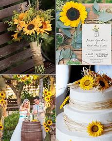 simple rustic wedding invitations with sunflower mason