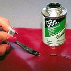 liquid stitch repair adhesive leather vinyl
