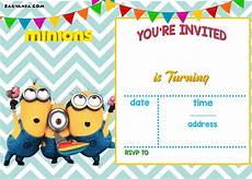 Create An Invitation For Free Free Printable Minion Birthday Party Invitations Ideas