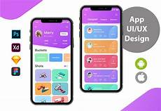 App Ui Design Ui And Ux For Your Mobile App Using Psd Or Xd For
