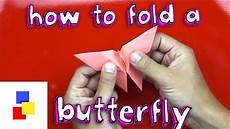 Fold Butterfly How To Fold A Butterfly Youtube