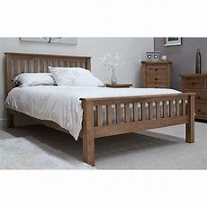 rustic solid oak 5 king size bed best price