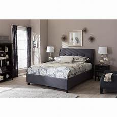 lea storage platform bed gray dcg stores