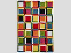 Vibrant Modern Sunrise Rug Bright Multi Coloured Floor Mat Home Centre Piece   eBay