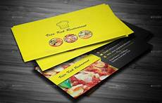 Restaurant Business Card Restaurant Business Card By Vejakakstudio Graphicriver