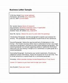 professional business letter format free 6 professional letter format samples in pdf ms word
