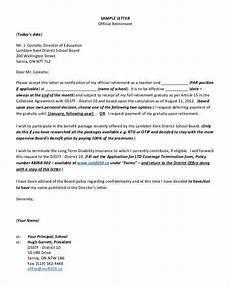Retirement Letters Examples 36 Retirement Letter Templates Pdf Doc Free