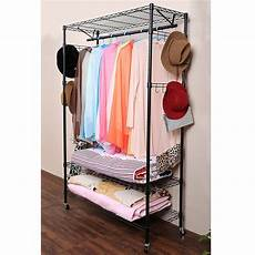 rolling closet racks for clothes adjustable rolling garment rack portable clothing storage