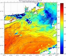 Sst Charts Rutgers Southern New England Sea Surface Temperatures Monday July