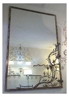 cornici in ferro battuto cornice design per specchio o foto ferro battuto cm 100 x