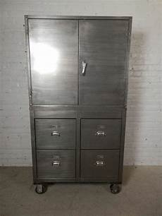 one of a large industrial storage cabinet at 1stdibs