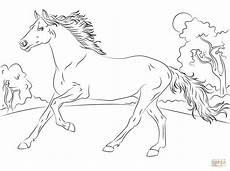 ausmalbilder pferde malvorlage gratis