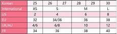 Xhilaration Top Size Chart Size Conversion Chart Help