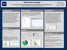 Poster Powerpoint Templates Ppt 36x48 Poster Template Powerpoint Presentation Free