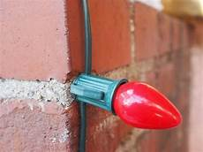 How To Attach Solar Lights To Brick Wall How To Use Glue To Fasten Christmas Lights To Brick Or