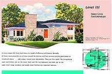 small ranch house plan two 1950s house plans for popular ranch homes