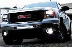 2012 Gmc Sierra Light Bar Proz Single Row Heavy Duty Cree Led Light Bars 250w