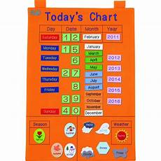 Today S Fishing Chart Today Chart Fabric Calendar With Attachable Pieces
