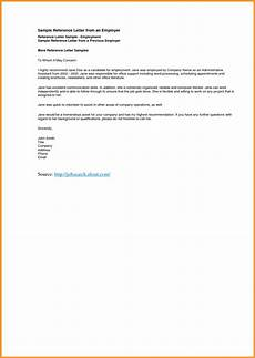 Sample Letter Of Recommendation For Employment 9 10 Recommendation Letter Samples For Employment