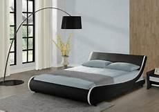 designer bed frame or king size faux leather