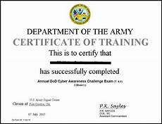 Army Certificates Of Training Iat Manual