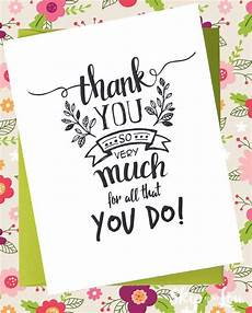 Thank You Cards To Print Free Free Printable Thank You Cards Skip To My Lou