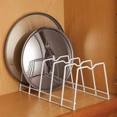 kitchen lid rack organize plates lids pan storage bakeware