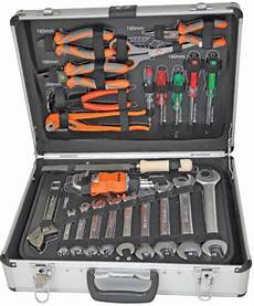 Pro Toolbox Werkzeugkoffermodellbahn by Pro Tech 51 Pcs Aluminum Toolbox Set With Wrenches