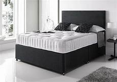 orthopaedic divan bed set with mattress and headboard 3ft