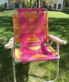 macrame lawn chair tutorial my twist