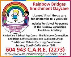 Daycare Ad Rainbow Bridges Enrichment Daycare 5280 3 Ave