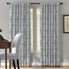 Target Light Filtering Curtains Springmaid Filigrana 84 In Blue Navy Polyester Light