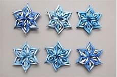 3d Paper Snowflake 3d Paper Snowflake Kids Crafts Fun Craft Ideas