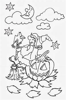 Ausmalbilder Zauberer Und Hexen Malvorlagen Hexe